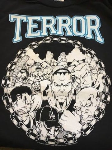TERROR - L.A. Hardcore T-shirt ~Never Worn~ LARGE ##