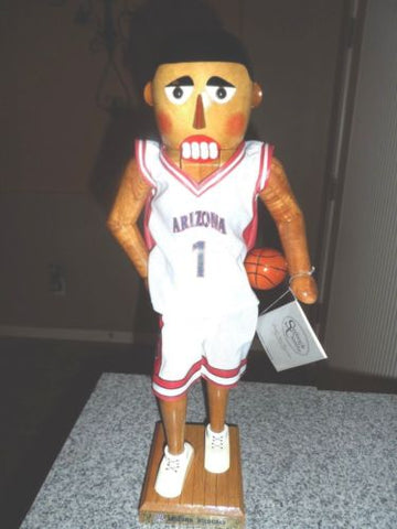 NCAA Basketball Nutcrackers-U of A, Hoosiers, Cornhuskers, USC ~Brand New w/ COA
