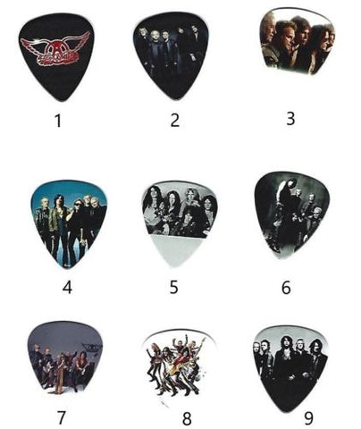 AEROSMITH Graphic Guitar Pick ~Your Choice of Many~ BUY 3, GET 3rd FREE