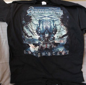 SYMPHONY X - Iconclast T-shirt ~Never Worn~ XL ##