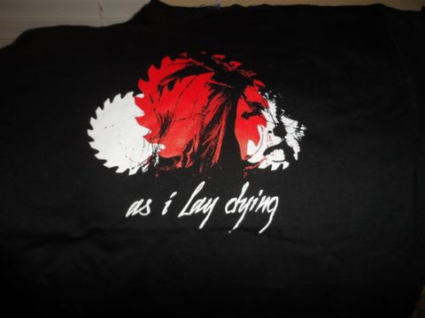 AS I LAY DYING - Buzz Saw T-shirt ~Never Worn~ MEDIUM / LARGE