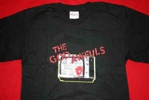 "The GOD AWFULS - ""TV"" T-Shirt ~NEVER WORN~ *FREE SHIPPING* M"