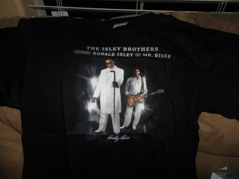 ISLEY BROTHERS - Body Kiss T-shirt ~Never Worn~ Large