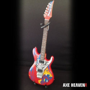 JOE SATRIANI -Surfing With The Alien Replica Ibanez 1:4 Scale Guitar~Axe Heaven