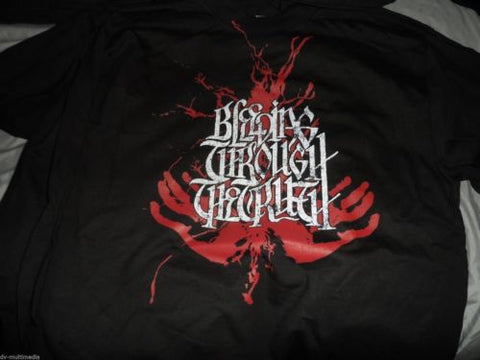 BLEEDING THROUGH - The Truth Tour long sleeved t-shirt ~NEVER WORN~ Sm / Med