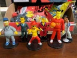 "THE SIMPSONS Ser1 Guest Stars- Full Set of 6~2013 WIZKIDS/NECA 2"" Action Figures"
