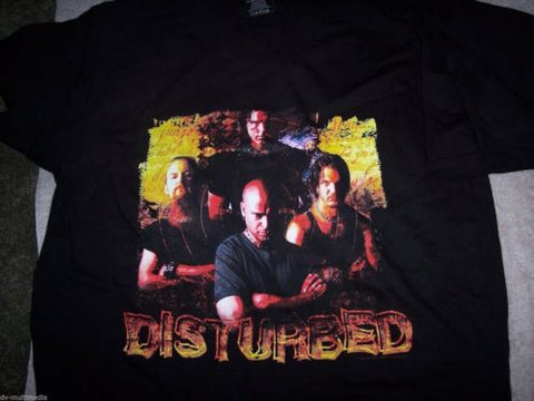 DISTURBED - Madness is the Gift T-Shirt ~NEVER WORN~ Large