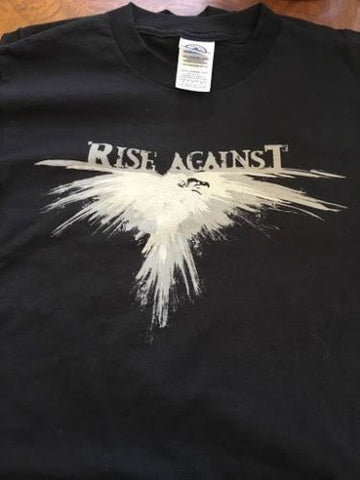 RISE AGAINST - Youth 2-sided T-shirt ~Never Worn~ FREE SHIPPING / YOUTH MEDIUM