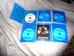 STAR WARS BLU-RAY/DVD DISCS-Choice of any of the 6 titles 3+ =