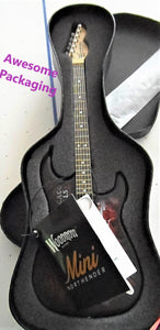 CHICAGO BLACKHAWKS 1:4 Scale Replica Woodrow NorthEnder Guitar ~Licensed~