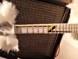 "BILLY GIBBONS (ZZ Top) - ""The Fur"" 1:4 Scale Replica Guitar ~Axe Heaven~"