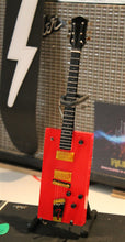 Load image into Gallery viewer, BO DIDDLEY - Gretsch G6138 Cigar Box Red Custom 1:4 Scale Replica Guitar ~New~