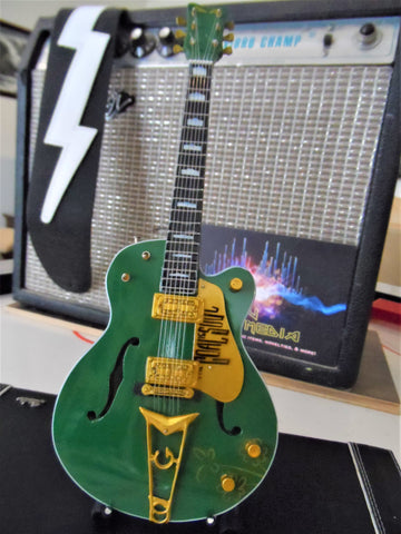 "BONO - Gretsch Irish Falcon G6136 ""The Goal is Soul""1:4 Scale Replica Guitar~New"