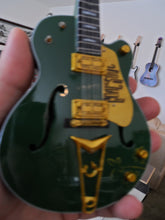 "Load image into Gallery viewer, BONO - Gretsch Irish Falcon G6136 ""The Goal is Soul""1:4 Scale Replica Guitar~New"
