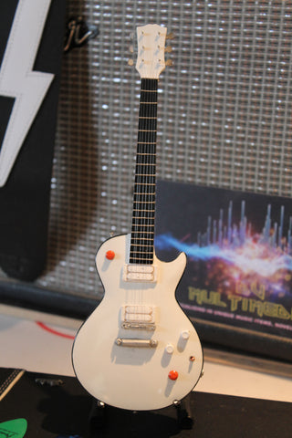 BUCKETHEAD - Signature Gloss White 1:4 Scale Replica Guitar ~New~