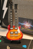 DON FELDER (The Eagles) - LP Double-Neck Custom 1:4 Scale Replica Guitar ~New~