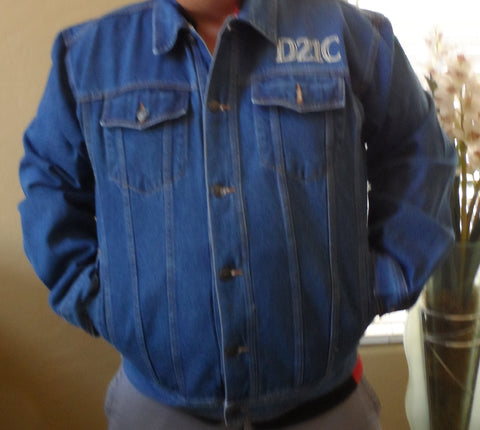 THE DOORS OF THE 21ST CENTURY -Denim Jacket Roadhouse RnR Tour~BRAND NEW~ XL XXL