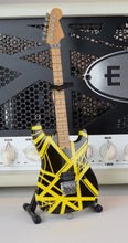 Load image into Gallery viewer, EDDIE VAN HALEN - Black & Yellow Bumblebee 1:4 Scale Replica Guitar ~Axe Heaven~