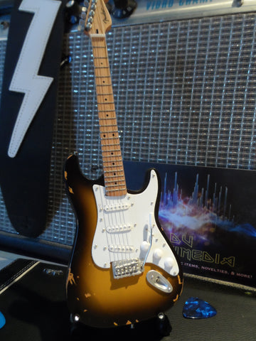 ERIC CLAPTON- 1956 Brownie Signature Strat 1:4 Scale Replica Guitar ~Axe Heaven~