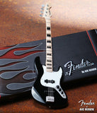 Fender Jazz Bass with Black Inlays 1:4 Scale Replica Guitar ~Axe Heaven~