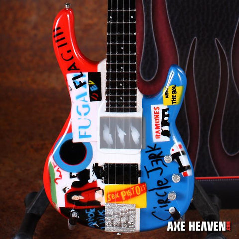 FLEA - Signature Psycho 1:4 Scale Replica Bass Guitar ~Axe Heaven~