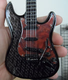Game of Thrones House Targaryen Inspired Custom 1:4 Scale Replica Guitar ~New~