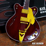 GEORGE HARRISON Rosewood Hollow Body 1:4 Scale Replica Guitar ~Axe Heaven~