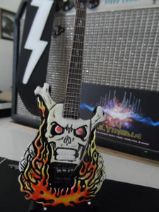 GEORGE LYNCH - ESP Flaming Skull Custom 1:4 Scale Replica Guitar ~Brand New~