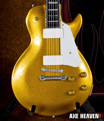 Les Paul Classic Gold Top 1:4 Scale Replica Guitar ~Axe Heaven~