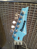 JOE SATRIANI - Ibanez Chickenfoot Blue 1:4 Scale Replica Guitar ~Axe Heaven~