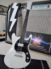 Load image into Gallery viewer, JOHNNY RAMONE - Eastwood Mosrite White Custom1:4 Scale Replica Guitar ~New~