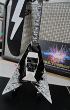 Load image into Gallery viewer, Kirk Hammett Death Magnetic V 1:4 Scale Replica Guitar ~Axe Heaven~