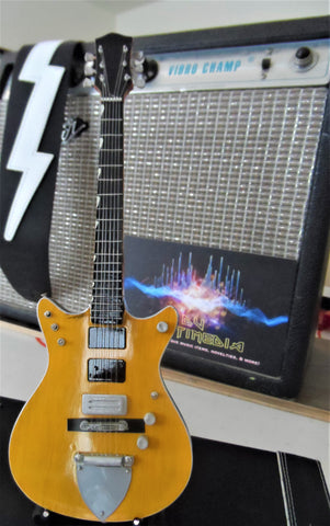 MALCOLM YOUNG - Gretsch G6131MY Signature Jet 1:4 Scale Replica Guitar~New~