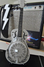 Load image into Gallery viewer, MARK KNOPFLER - National Style O Resonator Dobro 1:4 Scale Replica Guitar ~New~