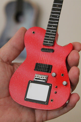 MATT BELLAMY Manson Glitter Red Custom 1:4 Scale Replica Guitar ~New~