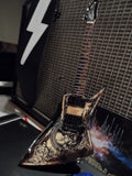 DAVE MUSTAINE (Megadeth) - Dean Zero In Deth We Trust 1:4 Replica Guitar ~New~
