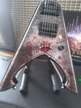 Load image into Gallery viewer, MICHAEL AMMOTT - Tyrant Battle Axe 1:4 Replica Guitar ~New~