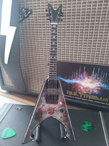 MICHAEL AMMOTT - Tyrant Battle Axe 1:4 Replica Guitar ~New~