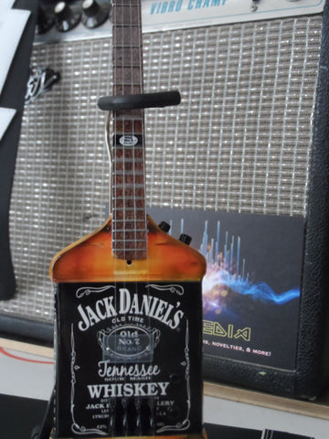 MICHAEL ANTHONY (Van Halen)-Jack Daniels Bass Guitar 1:4 scale ~Axe Heaven