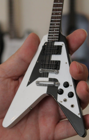 MICHAEL SCHENKER -1975 Flying V 1:4 Scale Replica Guitar ~NEW~