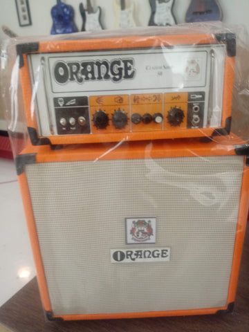 Orange Crush Head Model 1:4 Scale Replica Amplifier ~New~