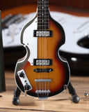 PAUL McCARTNEY - Hofner 500/1 Violin 1:4 Scale Replica Bass Guitar ~Axe Heaven~
