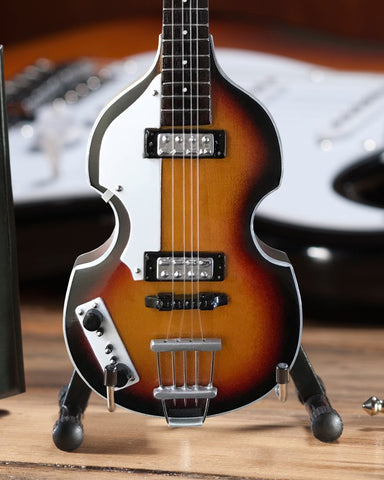 PAUL MCCARTNEY - Violin 1:4 Scale Replica Bass Guitar ~Axe Heaven~