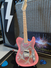 Load image into Gallery viewer, Fender Pink Paisley Telecaster 1:4 Scale Replica Guitar ~Axe Heaven~