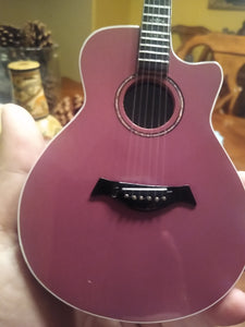 PRINCE Purple Stain Acoustic 1:4 Scale Replica Guitar ~Axe Heaven~