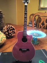 Load image into Gallery viewer, PRINCE Purple Stain Acoustic 1:4 Scale Replica Guitar ~Axe Heaven~
