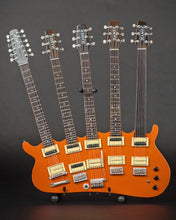 Load image into Gallery viewer, RICK NIELSEN (Cheap Trick) - Five-Neck Orange Monster Replica Guitar~Axe Heaven~