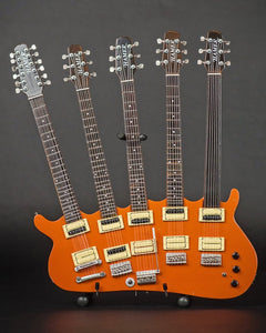 RICK NIELSEN (Cheap Trick) - Five-Neck Orange Monster Replica Guitar~Axe Heaven~