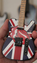 "Load image into Gallery viewer, ROLLING STONES ""Tongue"" Tribute 1:4 Scale Replica Guitar ~New~"