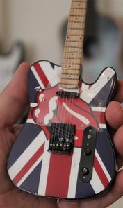 "ROLLING STONES ""Tongue"" Tribute 1:4 Scale Replica Guitar ~New~"